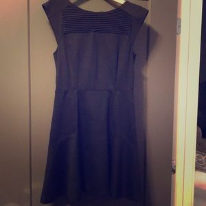 Banana Republic Fit and Flare Little Black Dress